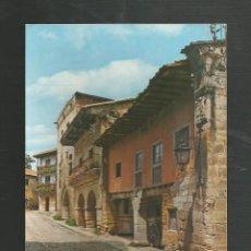 Postales: POSTAL SIN CIRCULAR - SANTILLANA DEL MAR 174 - CALLE TIPICA - SANTANDER - EDITA BUSTAMANTE. Lote 205308825