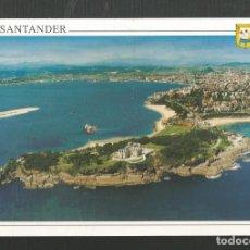 Postales: POSTAL CIRCULADA - SANTANDER 34 - PENINSULA DE LA MAGDALENA - EDITA ESCUDO DE ORO. Lote 205310758