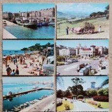 Postales: LOTE 7 POSTALES DE SANTANDER Y CANTABRIA - PUBLICIDAD DE COOPERATIVA LECHERA S. A. M. Lote 205319766