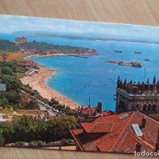 Postales: TARJETA POSTAL - SANTANDER PENINCULA Y PLAYA DE LA MAGDALENA 41. Lote 205395937