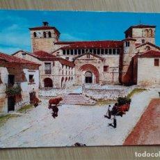 Postales: TARJETA POSTAL - 1964 SANTILLANA DEL MAR - LA COLEGIATA. Lote 205396771