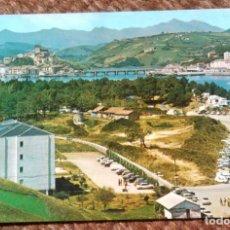 Postales: SAN VICENTE DE LA BARQUERA - SANTANDER - CAMPING 4. Lote 206321158