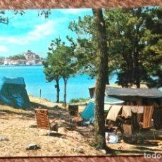 Postales: SAN VICENTE DE LA BARQUERA - SANTANDER - CAMPING. Lote 206321201
