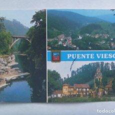 Postales: POSTAL DE PUENTE VIESGO ( CANTABRIA ): DIVERSOS ASPECTOS. Lote 206426656