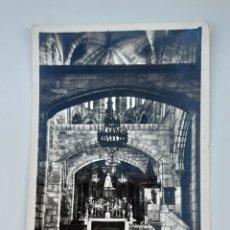 Postales: POSTAL SANTA MARIA, CASTRO URDIALES 1953. Lote 206569322
