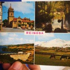 Postales: POSTAL REINOSA SANTANDER N 282 BUSTAMANTE HURTADO ESQUINAS PELÍN TOCADAS. Lote 206774312