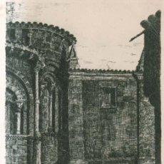 Postales: SANTILLANA DEL MAR COLEGIATA 1948 POSTAL CIRCULADA. Lote 206972965