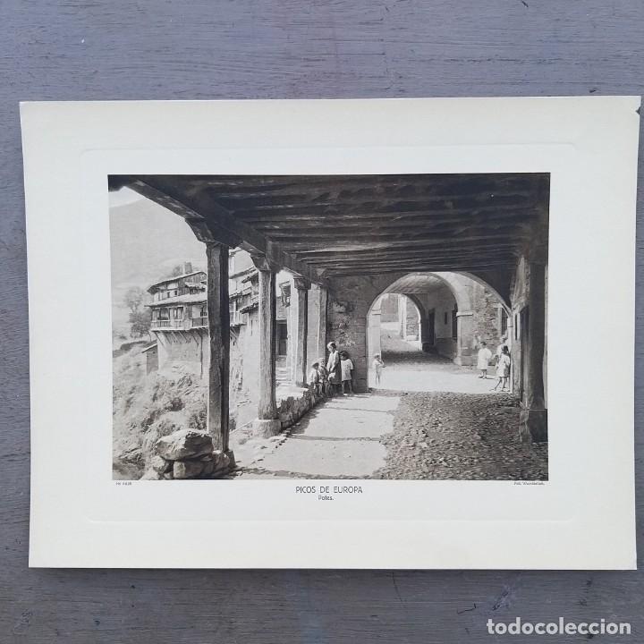 GRAN FOTOGRAFIA/FOTOTIPIA IMPRESA POTES CANTABRIA FOTO OTTO WUNDERLICH (Postales - España - Cantabria Antigua (hasta 1.939))