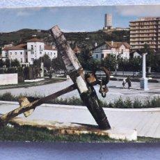 Postales: LAREDO. MONUMENTO AL PESCADOR. FRANQUEADA EL 7 DE NOVIEMBRE DE 1964.. Lote 209591768