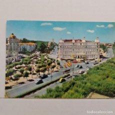 Postales: SANTANDER, PLAZA DE ITALIA Nº 2068 EDICIONES ARRIBAS, HOTEL SARDINERO. Lote 210591056