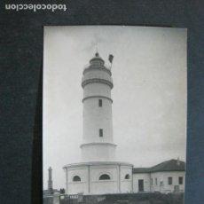 Postales: SANTANDER-FARO CABO MAYOR-ARCHIVO ROISIN-FOTOGRAFICA-POSTAL ANTIGUA-(72.399). Lote 210602397