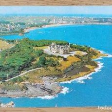 Postales: POSTAL - SANTANDER - VISTA AÉREA - PALACIO DE LA MAGDALENA Y PLAYAS DEL SARDINERO(CANTABRIA)GARCÍA G. Lote 211419324