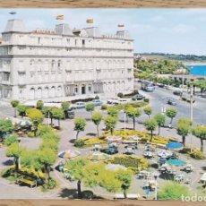 Postales: POSTAL - SANTANDER - PLAZA DE ITALIA - HOTEL SARDINERO (CANTABRIA) GARCÍA GARRABELLA. Lote 211419539