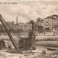 Postales: SANTANDER - CALLE DE CASTELAR CASA FUERTES S.C.. Lote 211891178