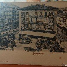 Postales: POSTAL SANTANDER, CANTABRIA, SIN CIRCULAR, ORIGINAL, BUEN ESTADO. Lote 212012623