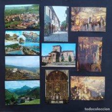 Postales: 17 POSTALES CANTABRIA POTES, SANTILLANA DEL MAR,LIEBANA, CASTRO URDIALES, MONTESCLAROS (P52). Lote 212622817