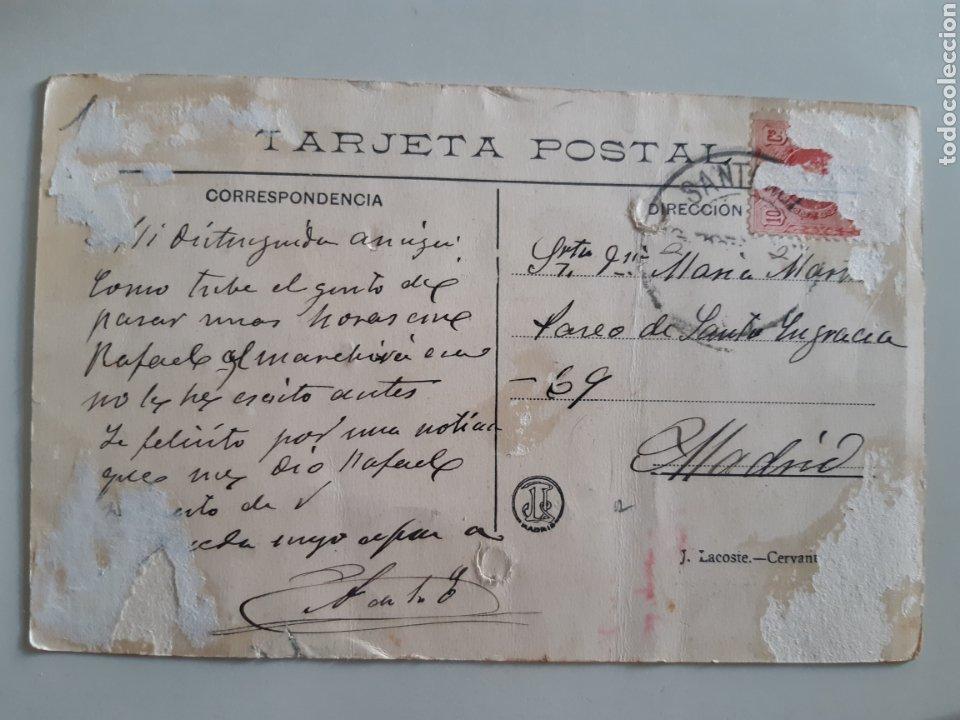 Postales: Postal Santander La vuelta de la romería El sabor de la tierruca De la Puente J Lacoste - Foto 2 - 213219018