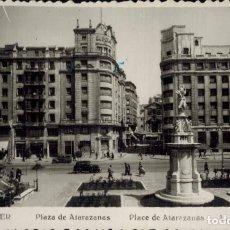 Postales: SANTANDER. Nº 206, PLAZA DE ATARAZANAS. FOTOFRÁFICA L.ROISIN. MANUSCRITA. Lote 213744438