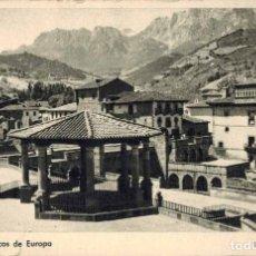 Postales: POTES, CANTABRIA. POTES Y LOS PICOS DE EUROPA. FOTO E. BUSTAMANTE. Lote 213744578
