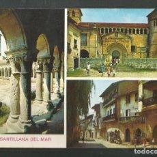 Postales: POSTAL SIN CIRCULAR - SANTILLANA DEL MAR 26 - SANTANDER - EDITA ARRIBAS. Lote 213753622