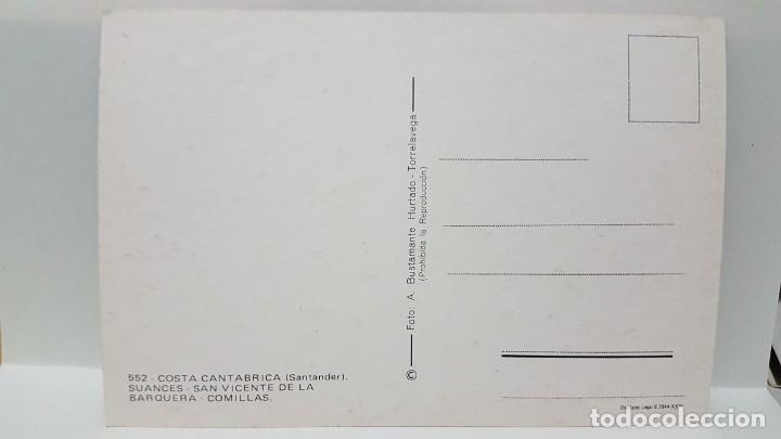 Postales: ANTIGUA POSTAL DE CANTAMBRIA. SANTANDER. SUANCES. SAN VICENTE DE LA BARQUERA - Foto 2 - 213916272