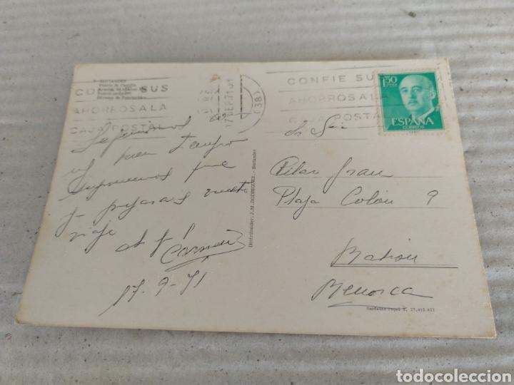 Postales: POSTAL DE SANTANDER, PUERTO DE CASTILLA,AVENIDA ALFONSO XIII, DARSENA Y PUERTO PESQUERO. CIRCULADO - Foto 2 - 19147672