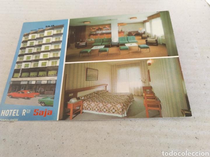 POSTAL DE SANTANDER 1975. HOTEL RESIDENCIA SAJA DE TORRELAVEGA. SIN CIRCULAR (Postales - España - Cantabria Moderna (desde 1.940))