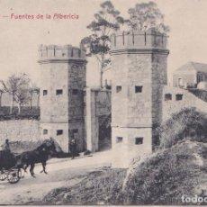 Postales: SANTANDER (CANTABRIA) - FUENTES DE ALBERICIA. Lote 214286555