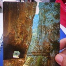 Cartoline: POSTAL PICOS DE EUROPA GARGANTA DEL CARES N 119 BUSTAMANTE DE POTES S/C. Lote 214544966