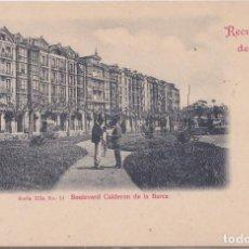 Postales: SANTANDER (CANTABRIA) - BOULEVARD CALDERON DE LA BARCA. Lote 215030770