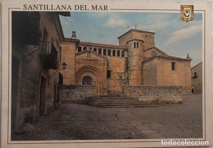 POSTAL SANTILLANA DE MAR - ESCUDO DE ORO - Nº 40 (Postales - España - Cantabria Moderna (desde 1.940))