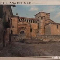 Postales: POSTAL SANTILLANA DE MAR - ESCUDO DE ORO - Nº 40. Lote 215773490