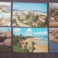 Postales: LOTE DE POSTALES SANTANDER AÑOS 60 A 80. Lote 217391626