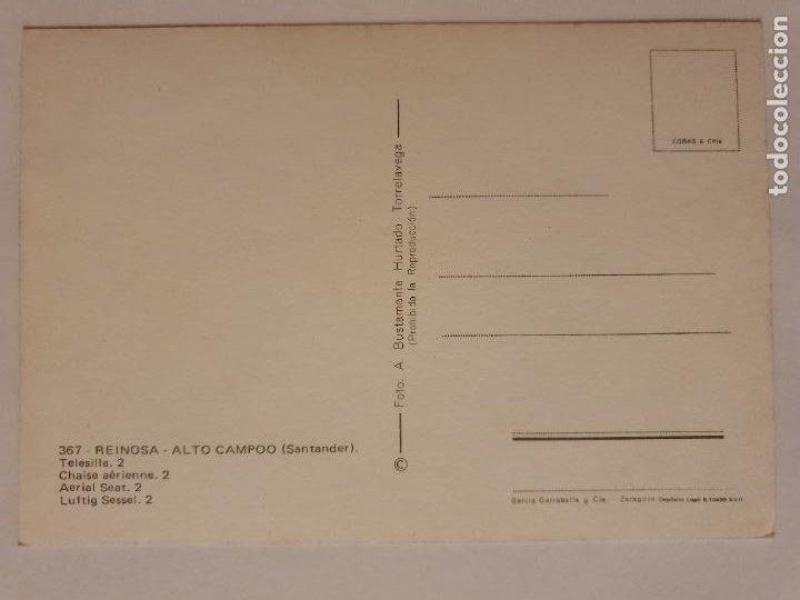 Postales: REINOSA - ALTO CAMPOO - TELESILLA - LMX - CAN2 - Foto 2 - 217957480