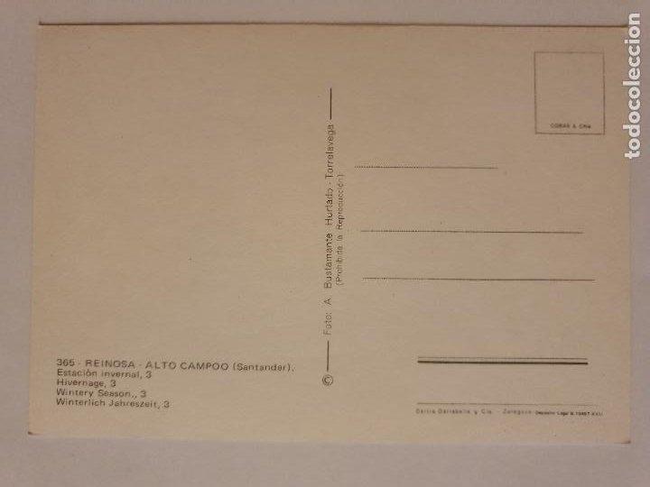 Postales: REINOSA - ALTO CAMPOO - ESTACIÓN INVERNAL - LMX - CAN2 - Foto 2 - 217957515