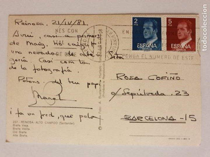 Postales: REINOSA - ALTO CAMPOO - BRAÑA VIEJA - LMX - CAN2 - Foto 2 - 217957582