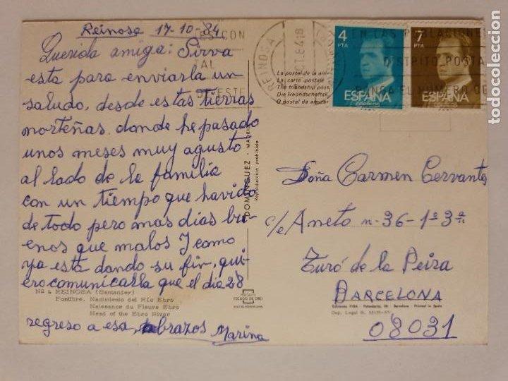 Postales: REINOSA - FONTIBRE - NACIMIENTO DEL RÍO EBRO - LMX - CAN2 - Foto 2 - 217957665