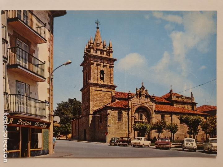 REINOSA - IGLESIA DE SAN SEBASTIÁN - LMX - CAN2 (Postales - España - Cantabria Moderna (desde 1.940))