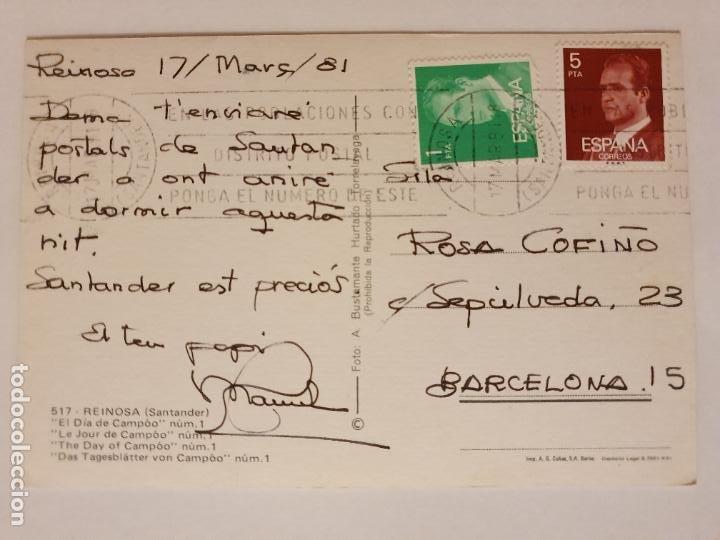 Postales: REINOSA - EL DÍA DE CAMPOO - LMX - CAN2 - Foto 2 - 217957823