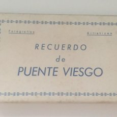 Postales: PUENTE VIESGO - LIBRITO DE 10 POSTALES - ED. CASTRO. Lote 217997525