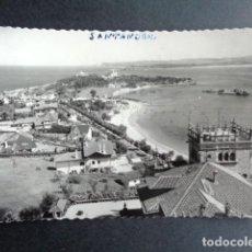 Postales: POSTAL SANTANDER. PLAYA Y PALACIO DE LA MAGDALENA. DANIEL ARBONÉS VILLACAMPA. EDICIONES DARVI.. Lote 218273681