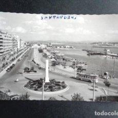 Postales: POSTAL SANTANDER. CALLE DE CASTELAR. ED GARCÍA GARRABELLA.. Lote 218273988