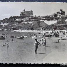 Postales: SANTANDER, HOTEL REAL DESDE LA MAGDALENA, POSTAL CIRCULADA DEL AÑO 1952. Lote 218278847