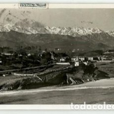 Postales: ANTIGUA POSTAL COMILLAS AL FONDO PICOS DE EUROPA ESCRITA 1964. Lote 218479626