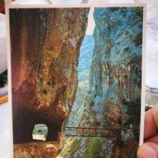 Postales: POSTAL PICOS DE EUROPA GARGANTA DEL CARES N 119 BUSTAMANTE DE POTES S/C 1990. Lote 218492443