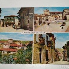 Postales: POSTAL SANTILLANA DEL MAR. Lote 218647300