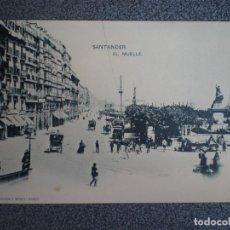 Postales: CANTABRIA SANTANDER EL MUELLE HAUSER 77 POSTAL ANTIGUA. Lote 218795131