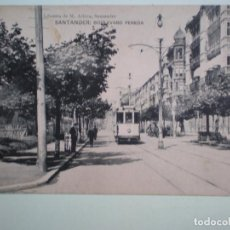 Postales: CANTABRIA SANTANDER BOULEVARD PEREDA POSTAL ANTIGUA. Lote 218795322