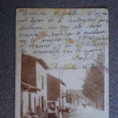 Postales: CANTABRIA AMPUERO RARA POSTAL FOTOGRÁFICA AÑO 1904. Lote 218795323