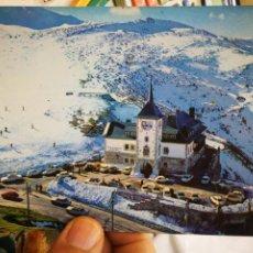 Cartes Postales: POSTAL PUERTO PAJARES PARADOR NACIONAL N 269 ALARDE ESCRITA Y SELLADA UNA ESQUINA TOCADA. Lote 219702143